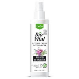 Натурален дезодорант с розова вода и розмарин