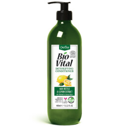 Detoxifying Conditioner with Nettle & Lemon