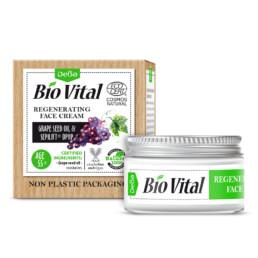 Възстановяващ крем за лице с масло от гроздови семки и Sepilift® DPHP (55+)