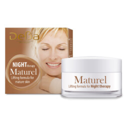 Night Therapy For Face And Neck With Lifting Formula