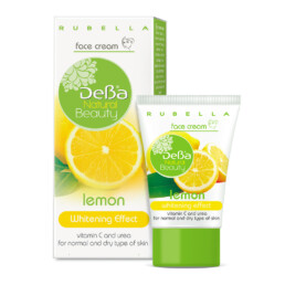 Face Cream with Lemon