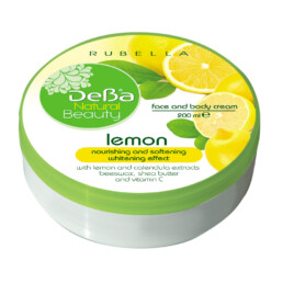 Face and Body Cream with Lemon