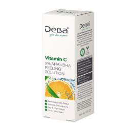 Face Peeling with Vitamin C