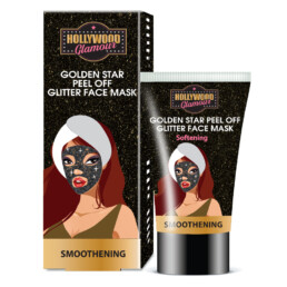 Golden Star Peel Off Glitter Mask