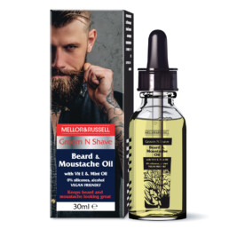 Nourishing Beard & Moustache Oil