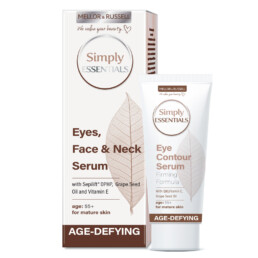 Serum for Eyes, Face and Neck with Q10