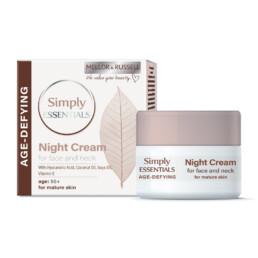 Night Cream for Face and Neck with Hyaluronic Acid